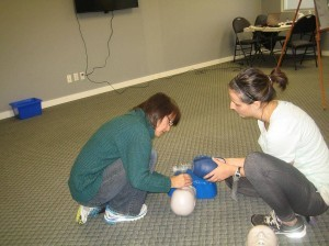 Standard first aid and CPR re-certification courses in Edmonton, Alberta