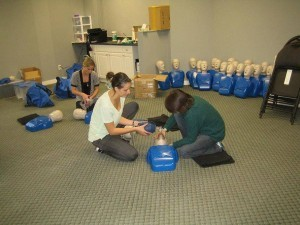 St Mark James standard first aid and CPR courses in Edmonton, Alberta