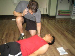 Edmonton first aid